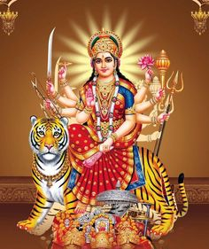 This image has an empty alt attribute; its file name is durga-devi.jpg